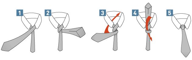 The World's Easiest Necktie Knot  *For Harry Potter (minus James!)