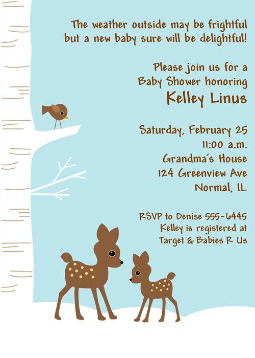 winter wonderland baby shower invitations more winter wonderland