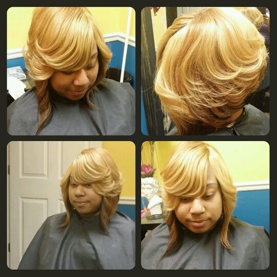 Quick Weave Layered Bob Styles By Cola Dope Stylist