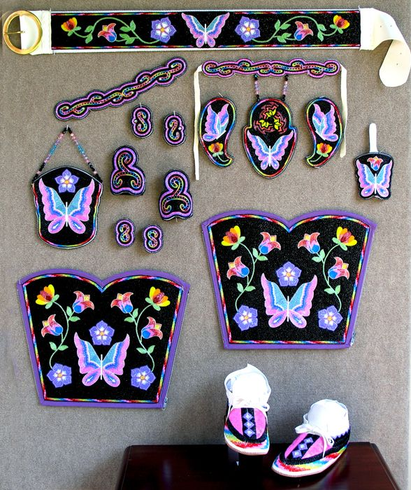 Iroquois Beadwork Patterns | KQ Designs - Native American Beadwork, Powwow Regalia, and Beaded ...