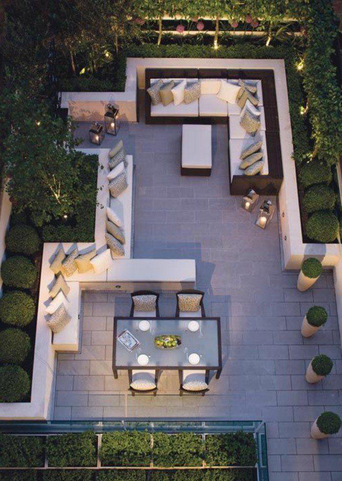 25  beste ideeën over amenagement terrasse exterieur op pinterest ...