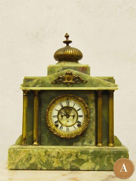 Антикварные часы с турбийоном Ansonia