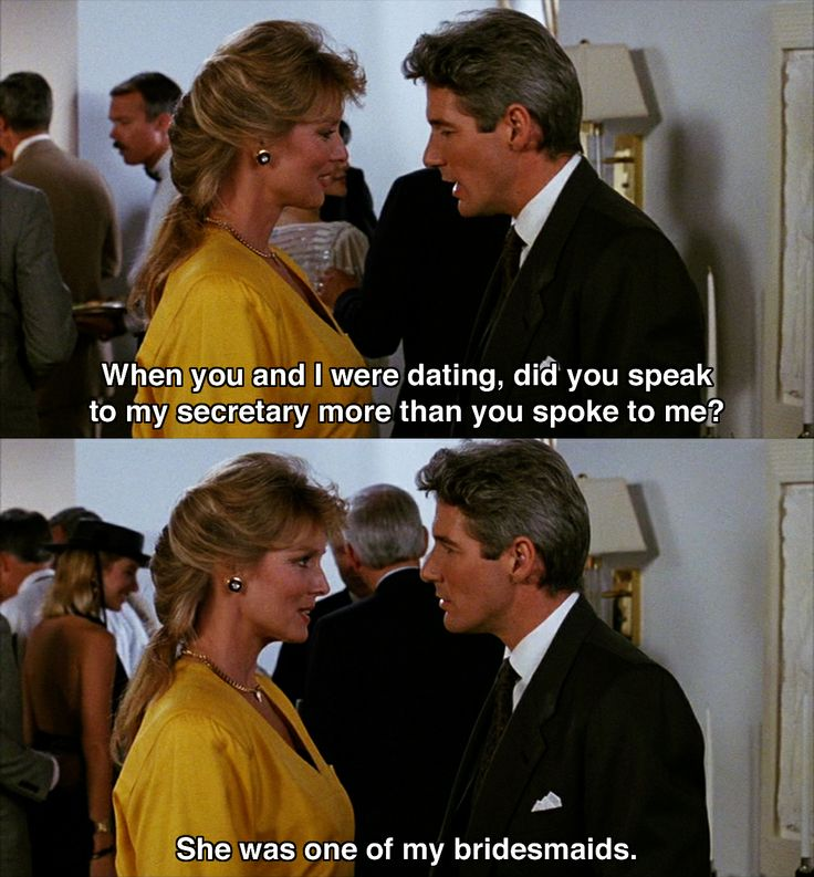 """When you and I were dating.."" ~ Pretty Woman (1990) ~ Movie Quotes"