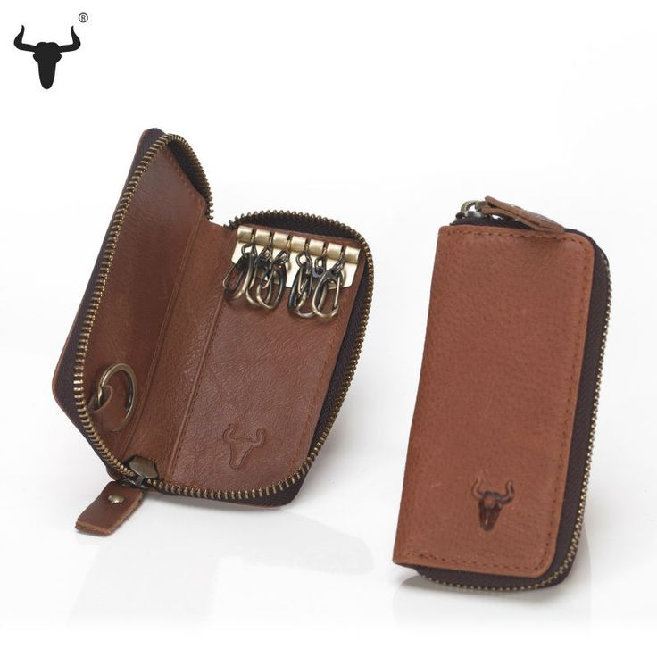 Top Grain Cowhide Leather Key Holder - Unisex - Pick Pay Post