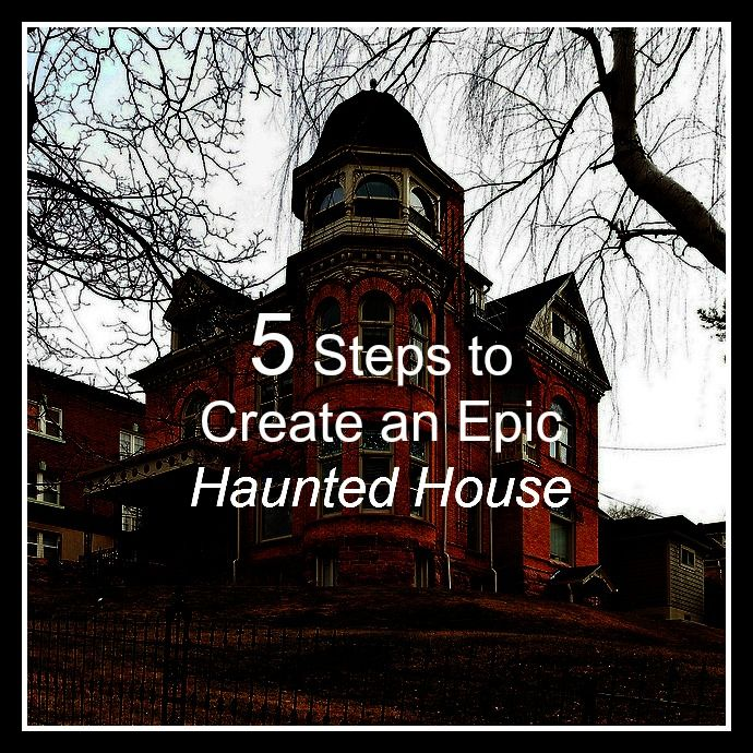 How To Create A Haunted House Halloween Pinterest