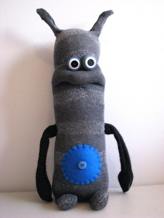 boneco de meia