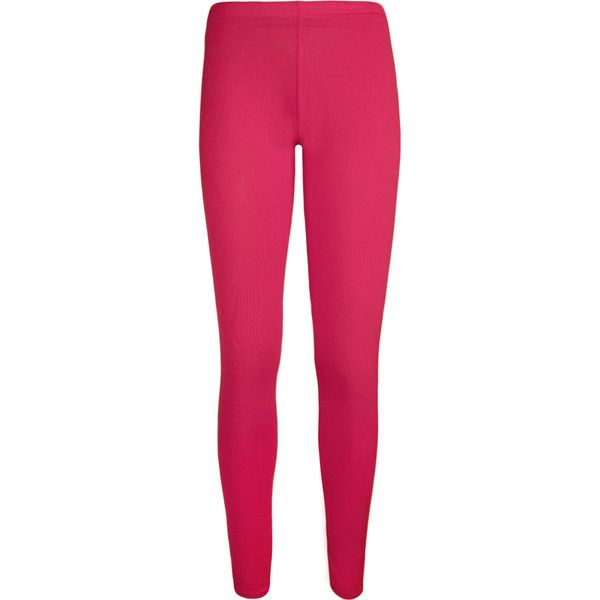 Annie Full Length Jersey Basic Leggings ($9.21) ❤ liked on Polyvore featuring pants, leggings, bottoms, jeans, cerise, jersey knit pants, elastic waist pants, stretch pants, jersey pants and elastic waistband pants