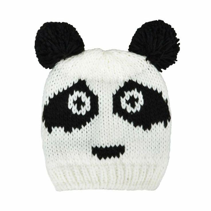 PANDA FACE BEANIE
