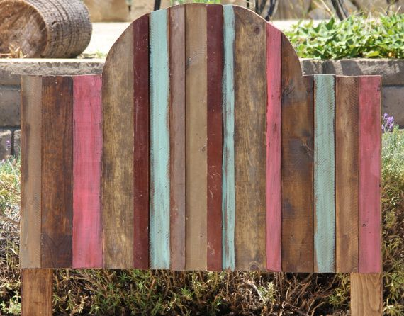 Rustic Girls Headboard