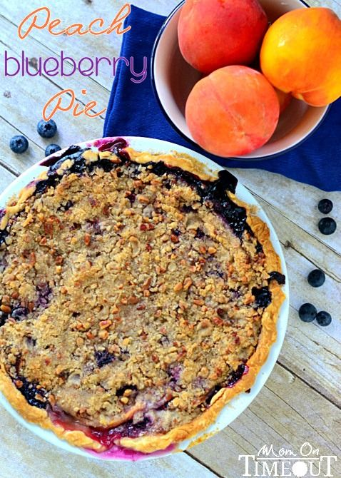Break out the oven for a fall inspired, peach and blueberry pie recipe.