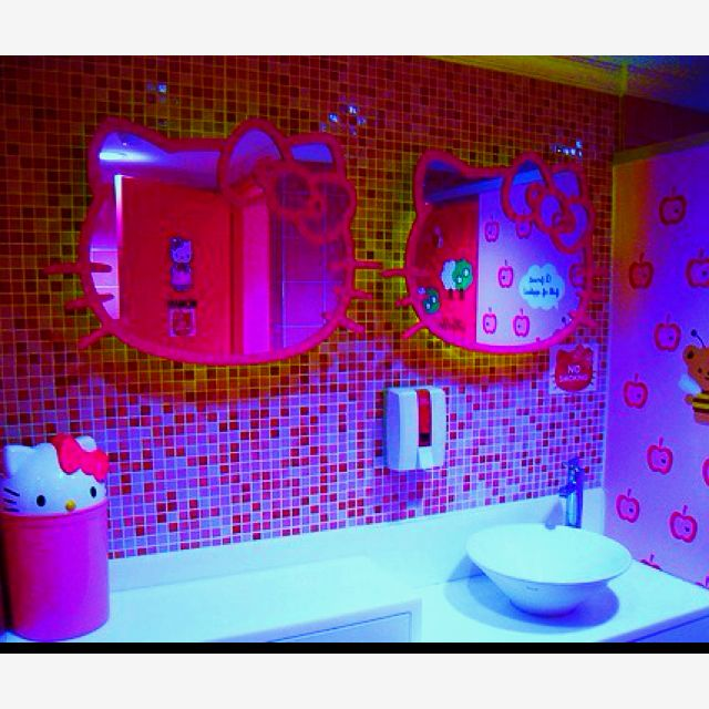 Pink Hello Kitty Bathroom