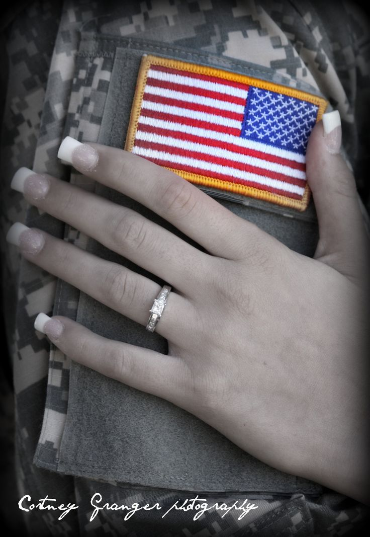 It is an absolute honor to be able to photograph a military engagement and wedding<3