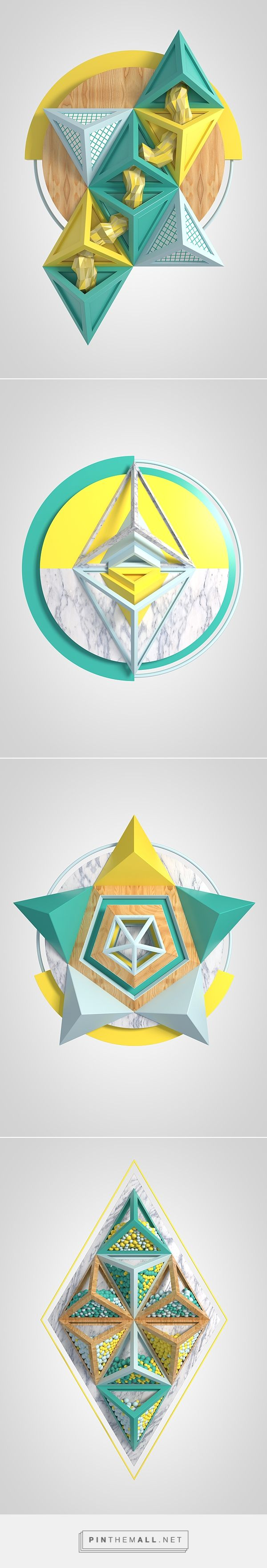 POLYSTRUKTS on Behance... - a grouped images picture - Pin Them All