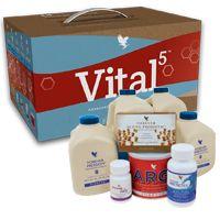 Vital5 biedt de 5 sleutel producten die samen de basis vormen voor een vitaal leven. Wanneer deze 5 kernproducten gecombineerd worden, zorgen zij voor een krachtige Voedingssnelweg, het fundament voor ieder op maat gemaakt voedingsprogramma.