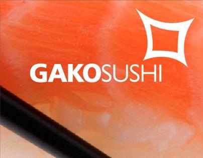 Gako Sushi - Branding Proyect