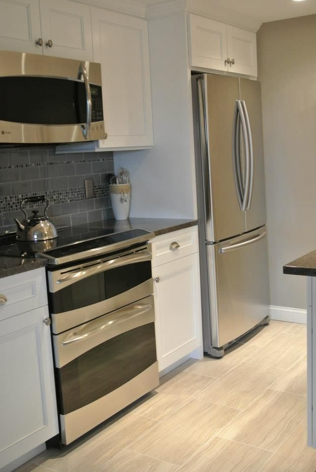 Small beach condo kitchen.  Thanks Jeff!  Design by Jeff Allen Construction (NJ)