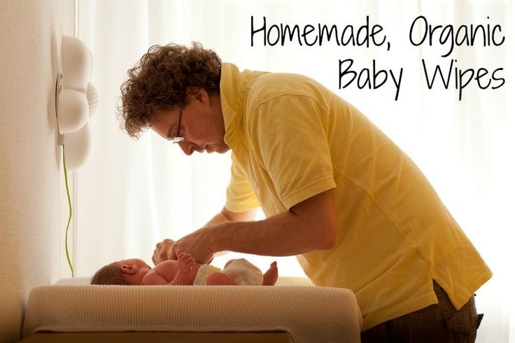 Homemade organic baby wipes that cost about a tenth of a cent each and are more durable and absorbent than cloth.    Easy peasy too.  http://www.thehealthyhomeeconomist.com/homemade-organic-baby-wipes/