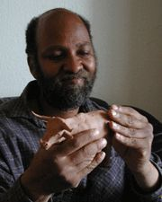 Alonzo Clemons - sculptor