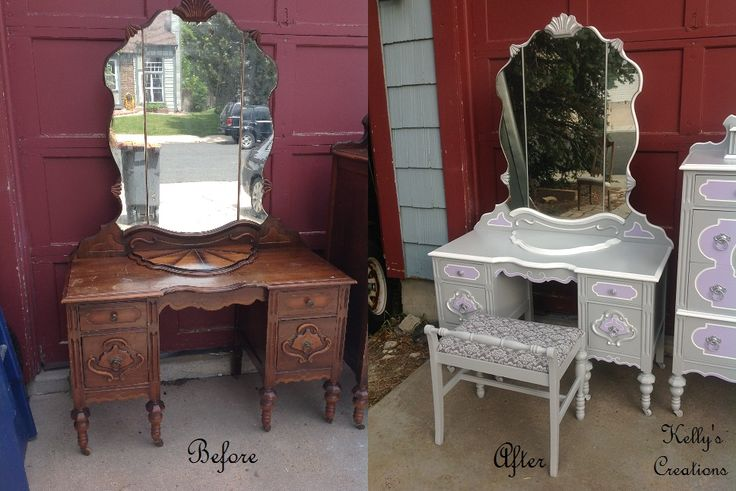 Refinished Painted Furniture