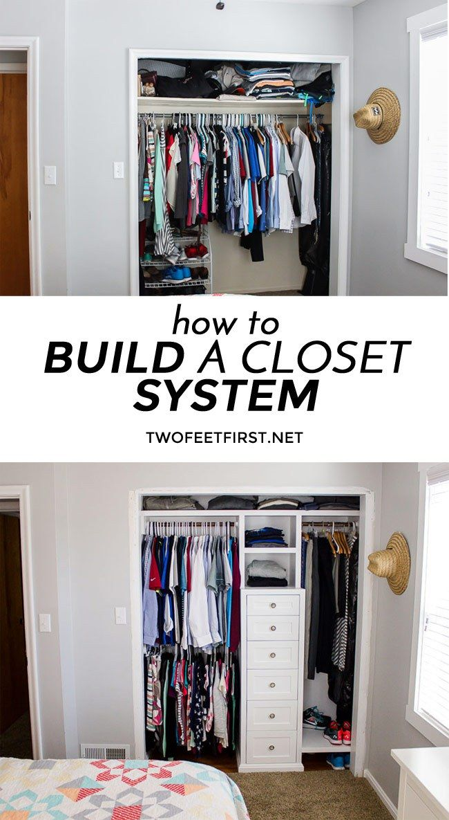 17 best ideas about build a closet on pinterest building a closet pallet wardrobe and diy. Black Bedroom Furniture Sets. Home Design Ideas