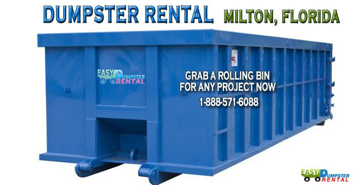 Dumpster Rental Milton Fl Snag 15 Off 10 15 20 30 Yarders Dumpster Rental Roll Off Dumpster Dumpster