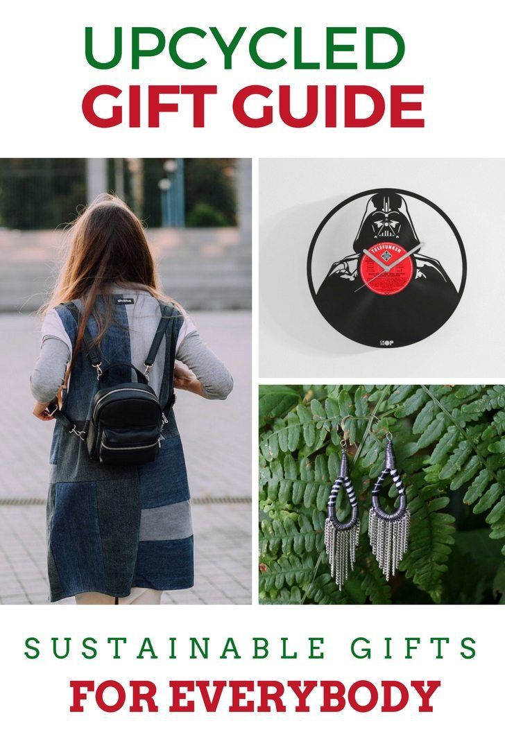 Upcycled Gift Guide - Find something for everybody on your list. Free worldwide shipping!