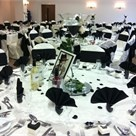 black and white table settingsTable Settings, Black And White, Tables Theme, White Tables Sets