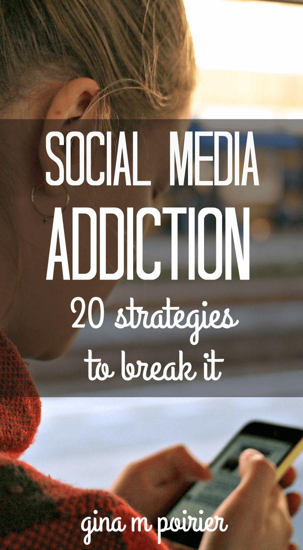 Social Media Addiction Help & Strategies