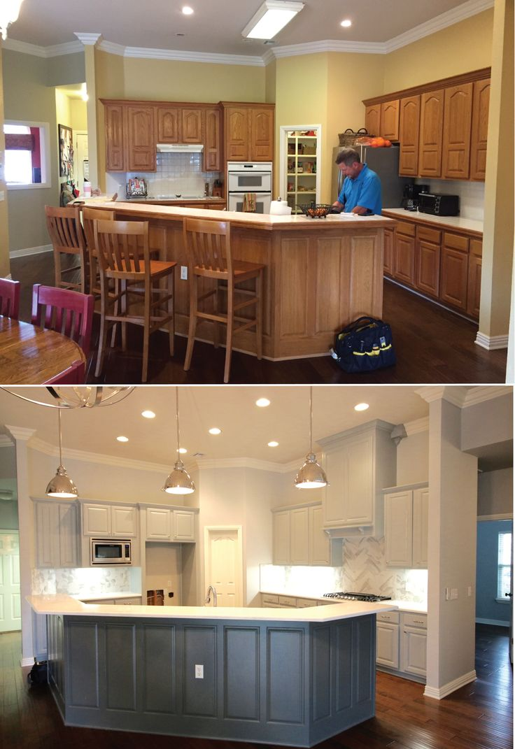 Traditional to Modern Farmhouse | Remodels | Distinctive Renovations | Homes of Distinction