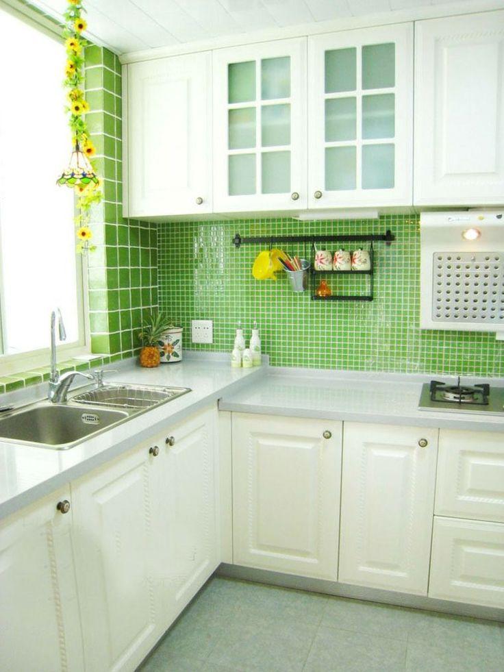 Idee deco carrelage mural cuisine cuisine avec ilot ide for Decoration cuisine carrelage mural