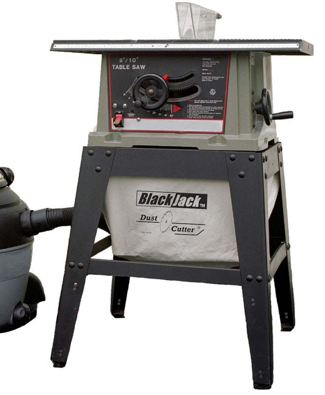 Dust Cutter II - Dust Collector for Table Saws - Cuts the dust by over 90%