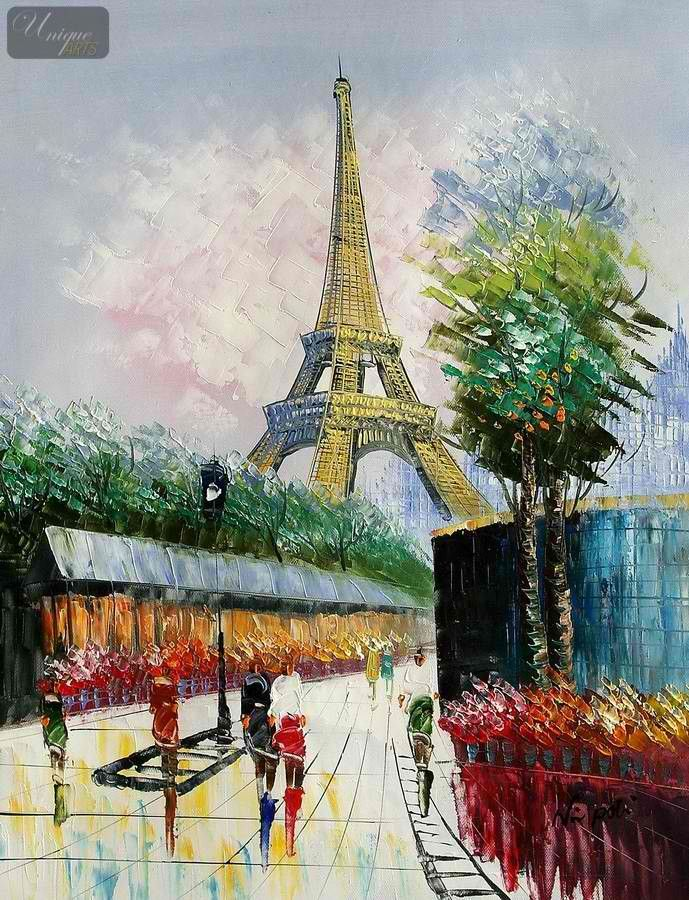 Eiffel Tower Paint Color History