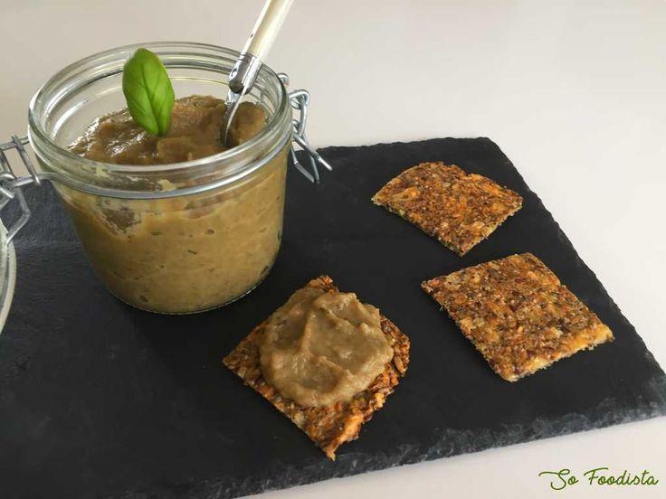 Recette du caviar d'aubergines paléo-céto-low carb-sans gluten... Idéal en été, à l'apéro...