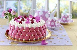 Macaron-Cookie-Torte Rezept
