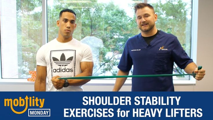 Mobility Monday: 💪 Shoulder Stability Exercises for Heavy Lifters