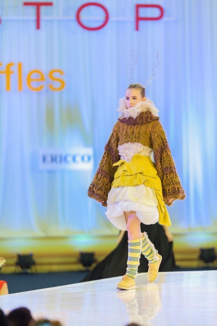 Ladies fashion by a Raffles student.