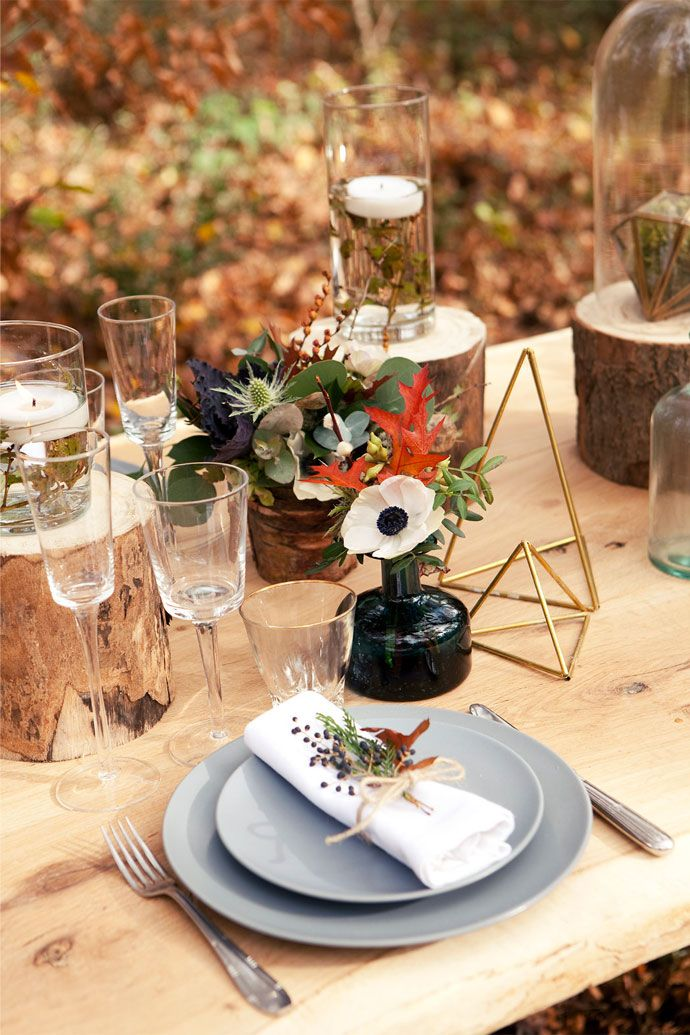 Shooting d'inspiration mariage - Thème scandinave  