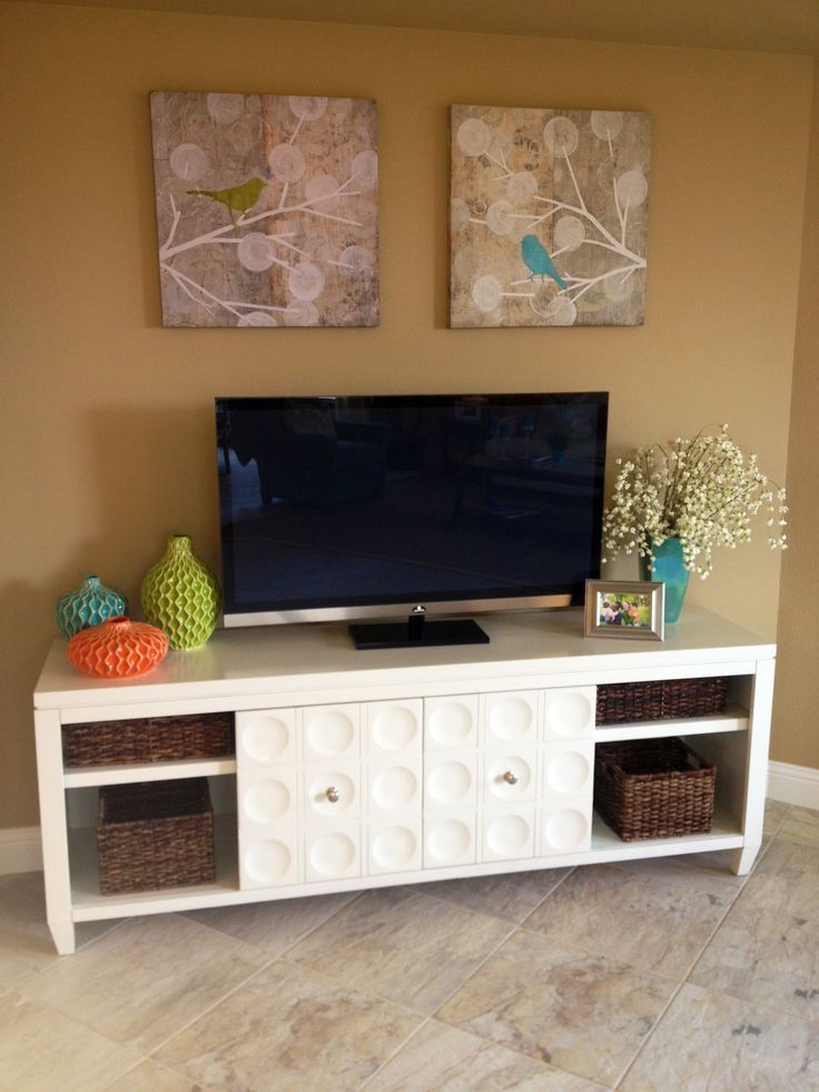 Aaron likes big tv stands i 39 m more of a minimalist and i for Living room tv stand ideas