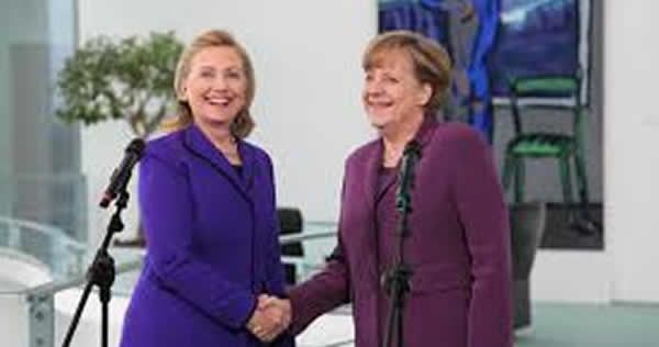 HILLARY Clinton is facing a backlash in Germany after it was revealed the country's taxpayers handed over equivalent to over $6million to her foundation via the government at the height of the US elections.