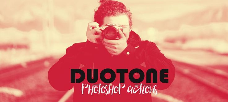 50 Duotone Pro Photoshop Actions