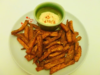 Curry Sweet Potato Fries | Indian India Inspired | Pinterest
