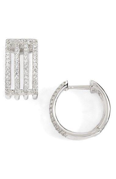 Bony Levy Diamond Small Hoop Earrings (Nordstrom Exclusive)