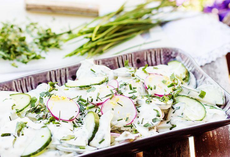 #mizeria #przepis #Polish #cucumber #salad