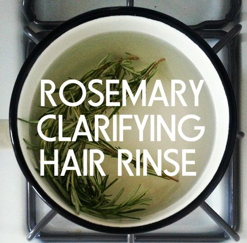 Get Shinier Hair Naturally with this amazing Rosemary Clarifying Hair Rinse- Green Beauty Team