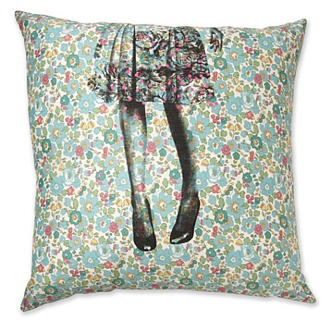 Alice liberty print cushion cover - from Selfridges