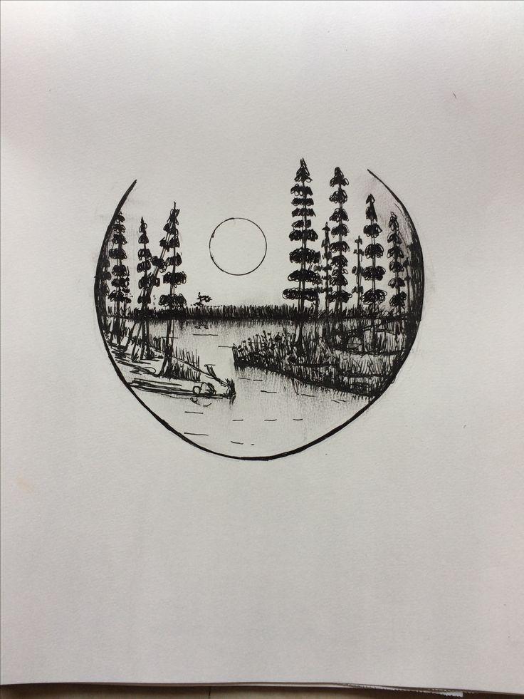 pen easy drawings drawing simple doodles always