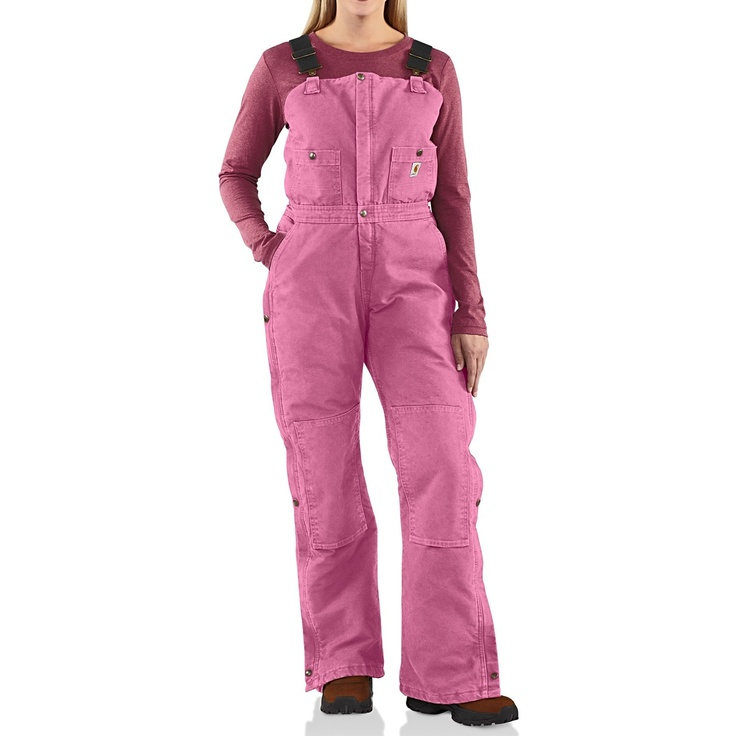 adult pink overalls