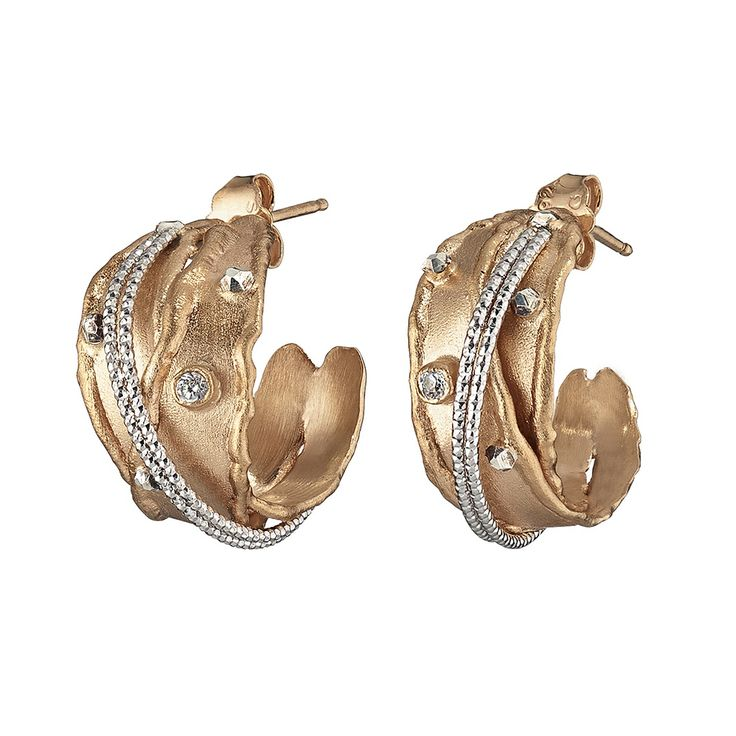 Oxette Earrings - Available here http://www.oxette.gr/kosmimata/skoularikia/ster.silv.rosegold-pl.ear.links-cz-oxette-554l-1/   #oxette #OXETTEearrings #jewellery