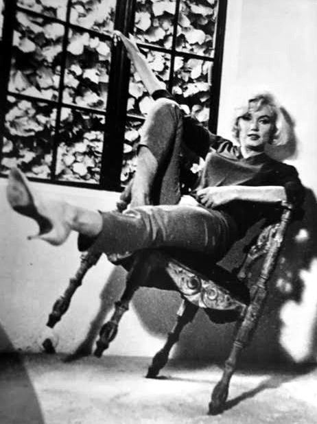 Marilyn at home in Brentwood CA her last interview - 1962