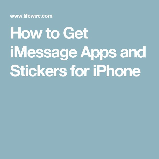 How to Get iMessage Apps and Stickers for iPhone